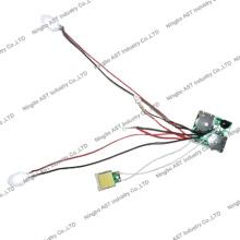 Módulo LED para brinquedos, módulo LED para cartões de papel, revista