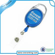 Working Business Retractable Plastic Badge Reel