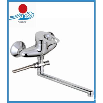 Wand-Mischbatterie Messing Wasserhahn (ZR22003-A)