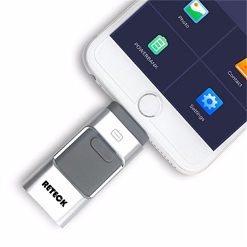 Lecteur Flash USB 3 en 1 Otg Flashdrive