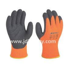 Зимние работы перчатки латексные пены с покрытием (LY2035) (одобренный CE)