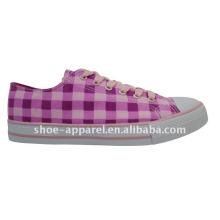 2014 новая мода девушки цвет холст обувь