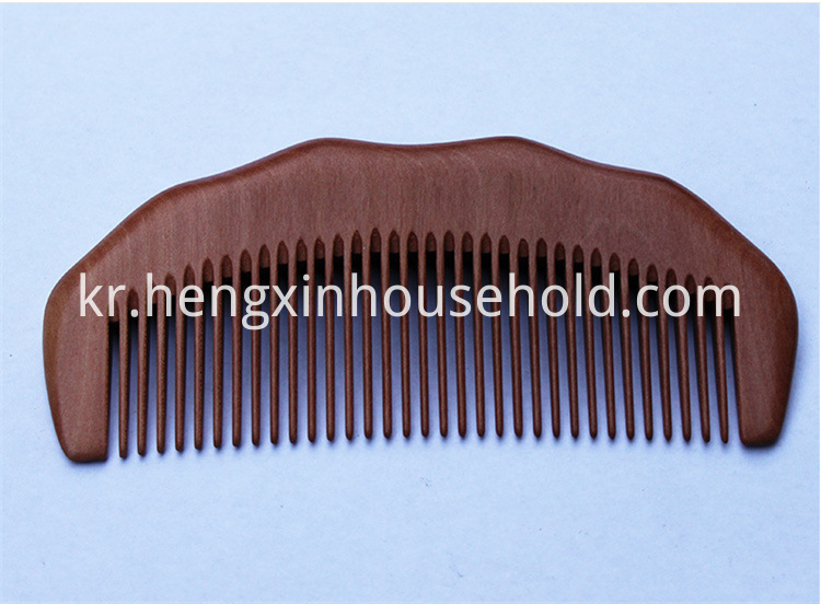wooden comb for hair