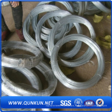 Fábrica directa que produce alambre galvanizado