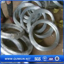 Fio galvanizado de produção diretamente de fábrica