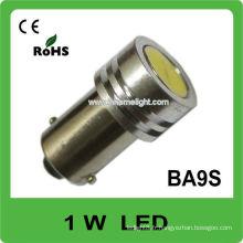 BA9S 1W de haute puissance conduit des ampoules inversées