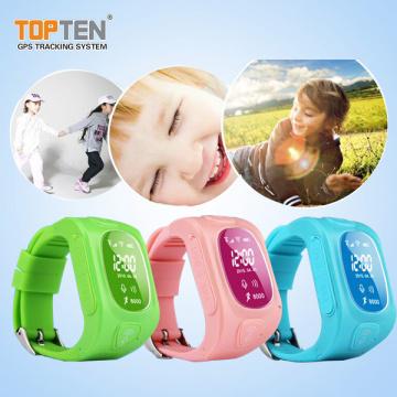 Child Tracking Devices Wristband Locator com comunicação de duas vias, SOS, Geo-Fence (WT50-ER)