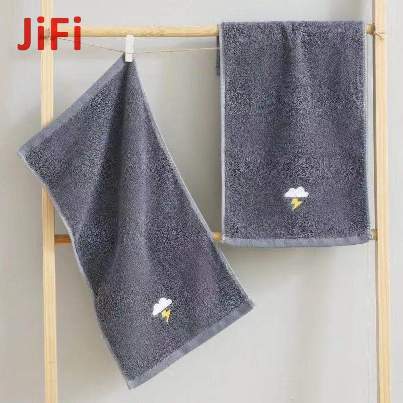 Kids Baby Hot Selling Pretty Design Soft Cotton Face Towel 06