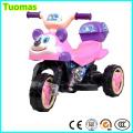Bebé juguete encantador regalo de la motocicleta eléctrica para niños 3 ruedas moto