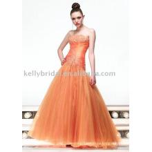 Горячая продажа великолепная Русалка вечернее платье KP3030