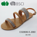 High Quality Lady Summer Fashion Beach Jelly Sandals