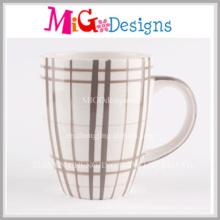 Taza de café de cerámica de las ventas calientes con la pintura