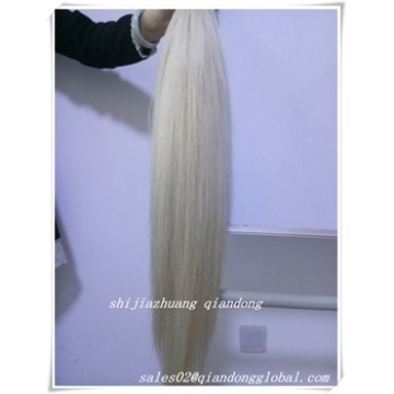 Pure White False Horse Tail Hair
