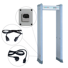 6 / 18 Zones Clip Check Portable Metal Detector with Password Protection