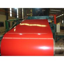 Bobina de aço revestida de cor/aço de bobina/telhado PPGI/aço (0,14 mm - 0.8 mm)