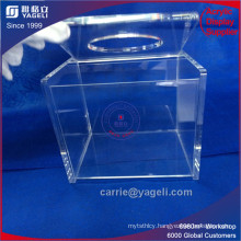 China Leading Manufactory Custom Color Acrylic Paper Dispenser