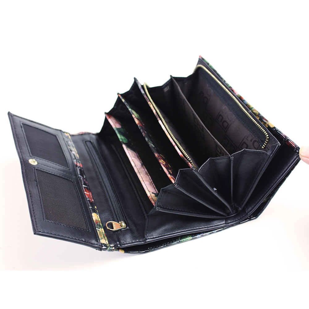 Women Long Folding Wallet Hold All Handbag
