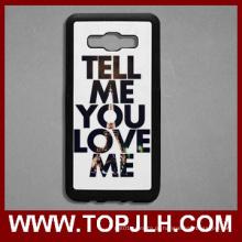 2D sublimação para impressão em branco telefone TPU para Samsung J5 (2016)