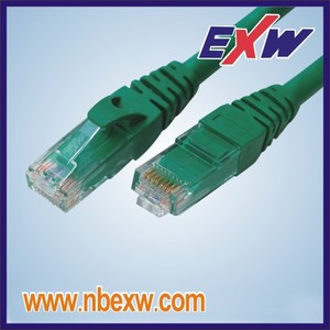 Cat5e Cable de conexión de red FUTP