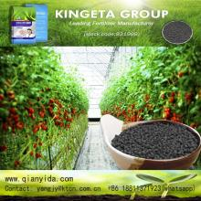 Carbon based bio organic fertilizer