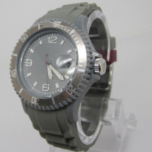 New Environmental Protection Japan Movement Plastic Fashion Watch Sj074-1