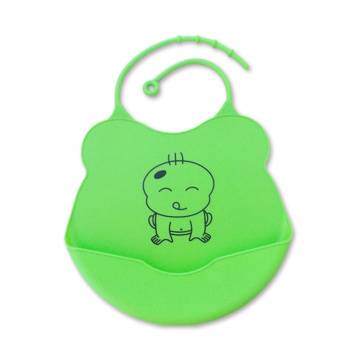 Reusable Waterproof Silicone Bib For Baby