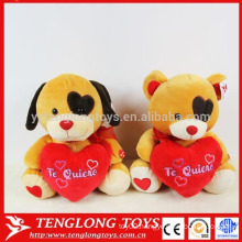couple wedding dog stuffed soft toy