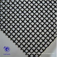 Malha de arame de aço inoxidável Quadrado Malha de diamante de abertura