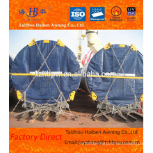 Factory Direct PVC Coated Tarpaulin Fabric for Wind Tower Head Cloth
