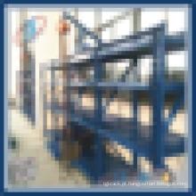 Armazém Armazém Rack de moldes de aço resistente