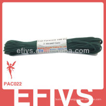 Fashion military parachute cord with 7 strand inner dacron