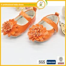 Chaussures pour enfants Chaussures à pied limitée Lovely Girls Pvc All Seasons Flat Princess Shoes