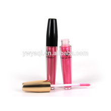 Cosmética de maquillaje permanente venta caliente del rodillo en brillo de labios con etiqueta privada
