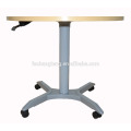 Gas Spring Sit to Stand Reception Desk Lifting Meeting Desk By Fashion Design