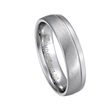 Wholesale Fashion New Jewelry Diamond Stainless Steel Wedding Ring for Men and Women with AAA+ Cubic Zircon