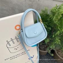 Ladies Fashion PVC Handbag Cute Handheld Cross-Body Bag 2021