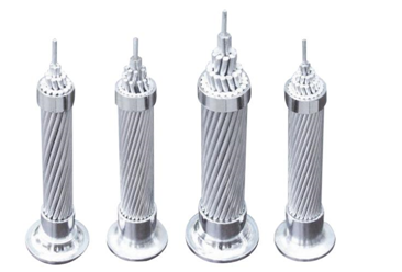 aluminum stranded conductor for overhead line