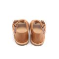 Kasut Sole Leather Kids Boy Summer Sandals Shoes
