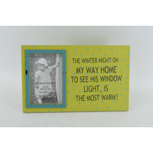 Shabby MDF Photo Frame para Home Deco