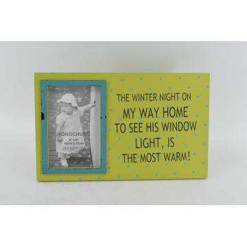 Shabby MDF Photo Frame for Home Deco