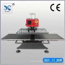 Máquina de transferência de pressão de pressão pneumática dupla face
