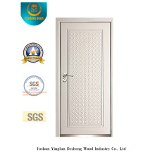 Modern Style Security Door with White Color (B-3011)