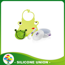 Factory cheap silicone baby tableware