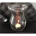 Réchauffeur d'huile essentielle en verre transparent - 16gc03211