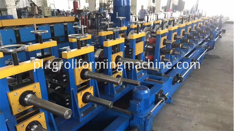 Steel Profile C Shape Roll Forming Machine