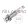 M18 Lanbao Kapazitiver Näherungssensor Schalter Flush Sn5mm DC 3-Draht M12 Stecker Metall CE UL