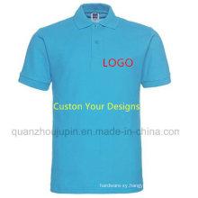 Custom Logo Print Men Women Work Advertising Polo T Shirt