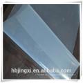 La fábrica de China suministra la hoja de goma de silicona transparente fina