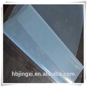 Folha de silicone de alta temperatura de alta transparência / placa