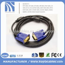 hot selling 15pin 3+6 VGA to VGA Cable male to male